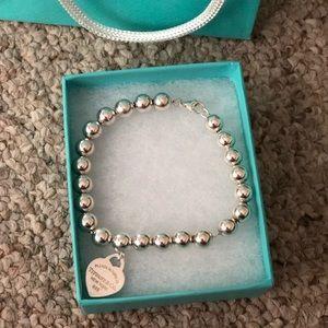 Tiffany & Co. Jewelry - Return to Tiffany bead bracelet 8in